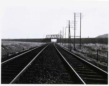 Untitled (Tracks), 1932