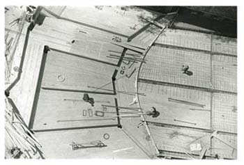 Untitled (Roof Work), ca. 1937
